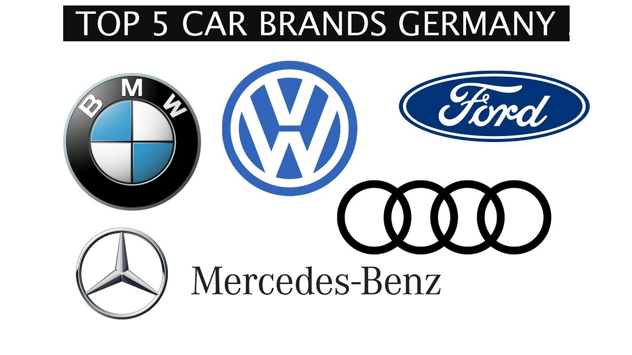 Top 5 Car Brands Germany 2018 Youtube
