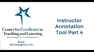 Instructor Annotation Part 4: Line Tool