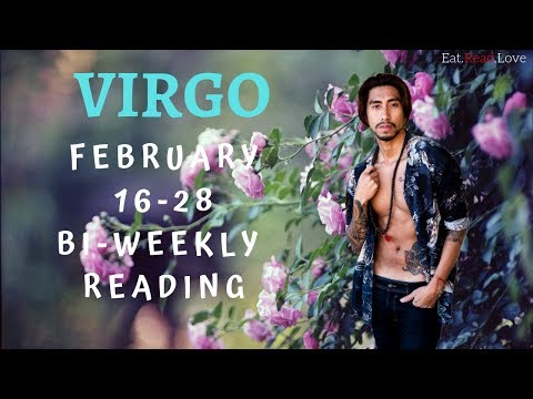 """VIRGO SOULMATE """"YOU ARE MEANT TO BE TOGETHER"""" FEB 16-28 BI-WEEKLY TAROT READING"""