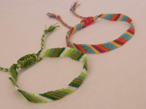 comment faire un bracelet brésilien simple (friendly bracelets for beginners)