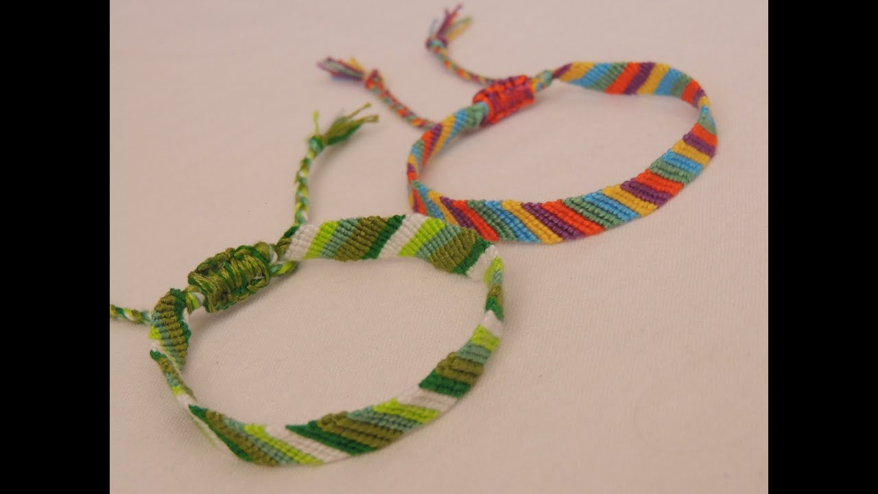 Préférence comment faire un bracelet brésilien simple (friendly bracelets for  OU94