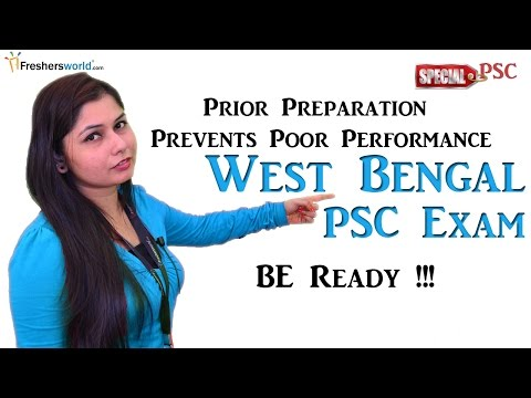 West Bengal Public Service commission - WBPSC 2016 Recruitment & Results
