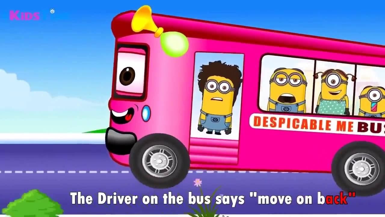 Песенка на английском для детей (Песня про Автобус) - YouTube