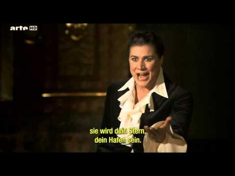 """Cecilia Bartoli interpreta: Come nave in mezzo allonde, del álbum: """"Sacriificium""""."""