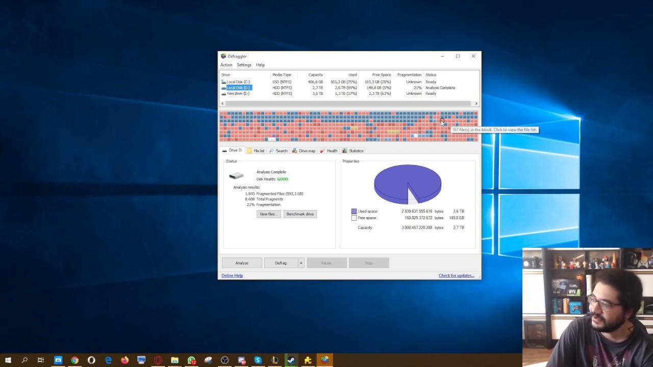 Download GTA Online araba sürerken takılma sorunu!  HDD RAM Sanal bellek ve Disk birleştirme Defragmentation