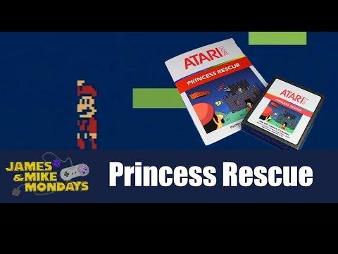 Super Mario Bros Atari 2600 - James & Mike Mondays