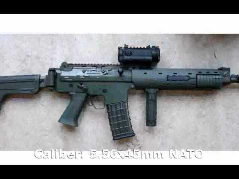 Pindad SS3 Bullpup Assault Rifle (2011) -  Specification Tech Details
