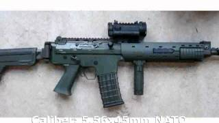 Pindad SS3 Bullpup Assault Rifle (2011) -  Specification Tech Details
