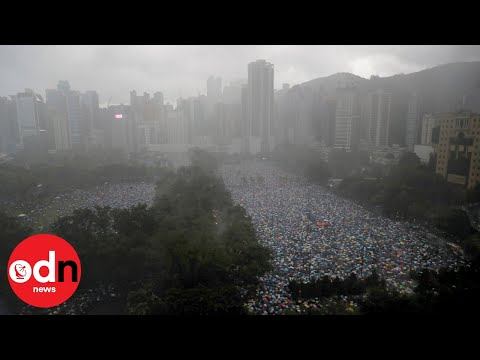 Hong Kong Protests: Thousands Gather in Victoria Park for Pro-Democracy Rally