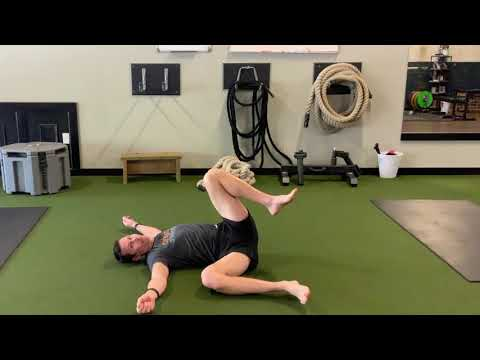 Stretching the Adductors with Rolling