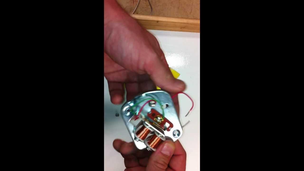 bell wiring diagram potentiometer sensor door - youtube