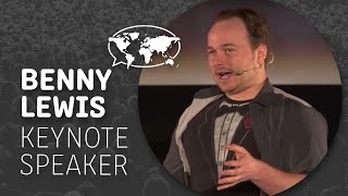Benny Lewis: Public Speaker, Language Hacker, NatGeo Traveler, Author,