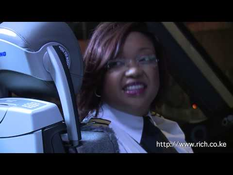 Captain Koki Mutungi 1st Female African Pilot Dreamliner