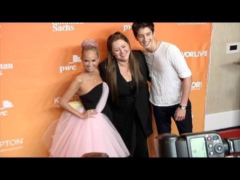 Camryn and Milo Manheim 2017 TrevorLIVE LA Gala Red Carpet