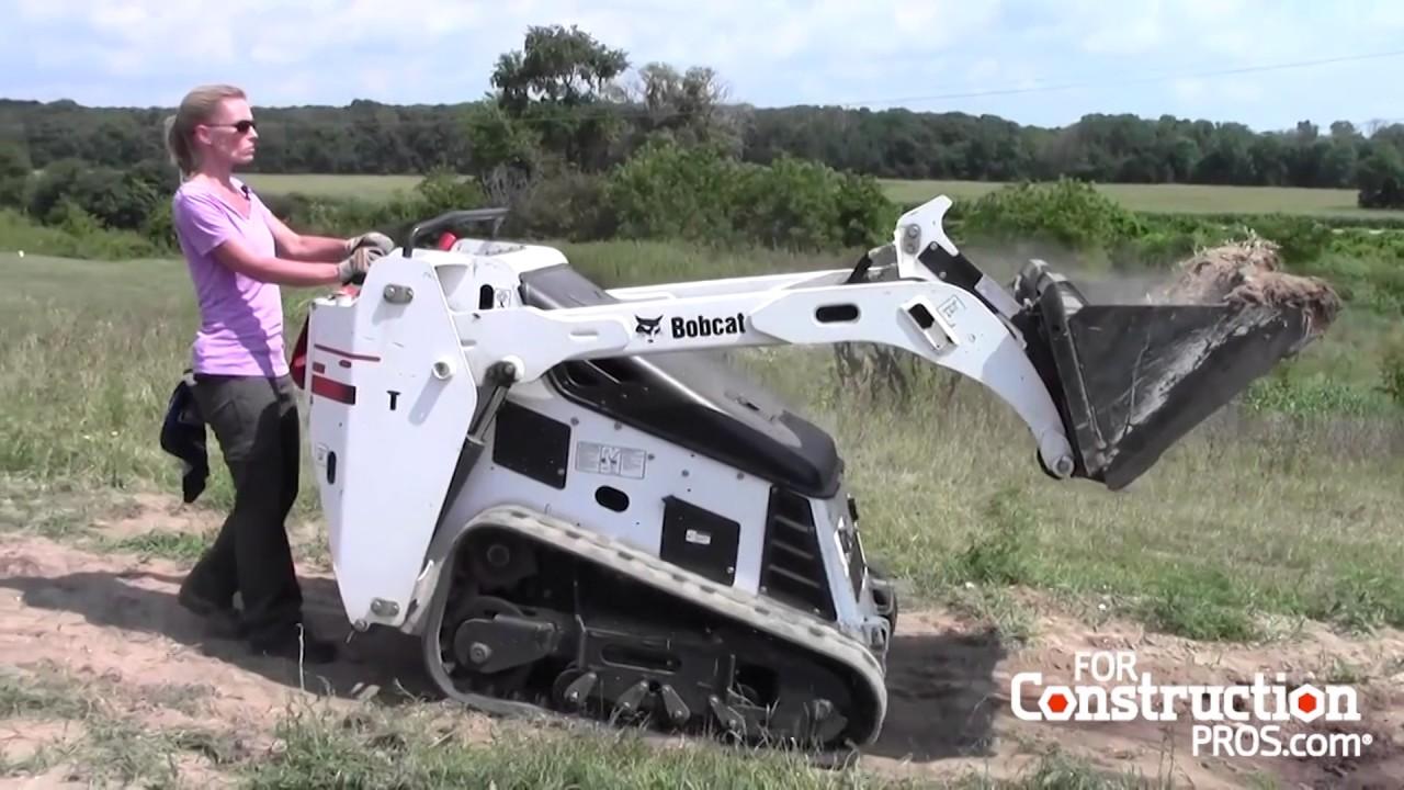 Closeup Operating Impressions: Bobcat MT85 vs MT52
