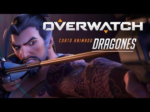 Overwatch, cinematica en Español | Dragones ! Video reacción!