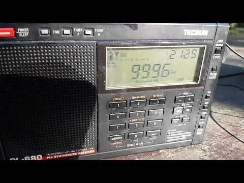RWM Moscow Russie Time Signal Station on Tecsun PL-680 VS GP5 SSB