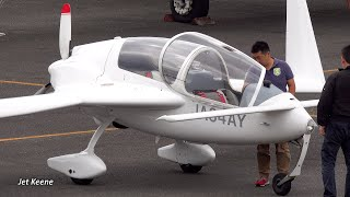 ジャイロフルーク SC-01B-160 スピード・カナード タッチアンドゴー【4K】岡南飛行場にて