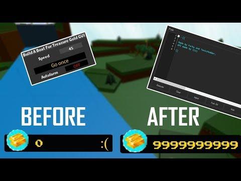 [STILL WORKS] Build A Boat For Treasure Script GUI { INFINITE GOLD }