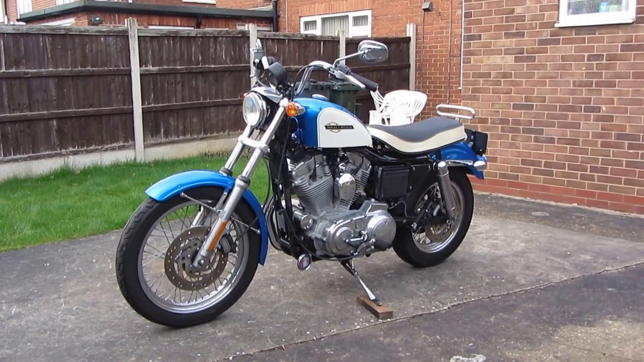 Evo Sportster With Ironhead Bench Seat Fitted
