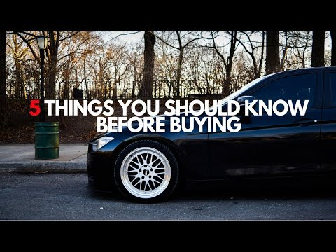 5 things you should know before buying a BMW