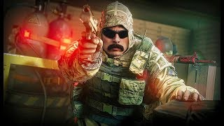 DrDisrespect discovers he is an ABSOLUTE NATURAL in Rainbow Six Siege