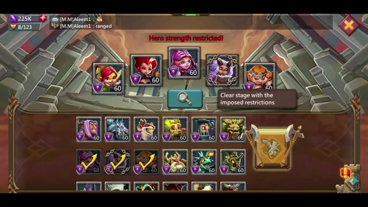 Lords Mobile Challenge Dream Witch 6