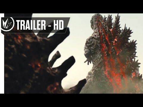 Shin Godzilla (Godzilla Resurgence) Official Trailer #1 (2016) -- Regal Cinemas [HD] streaming vf