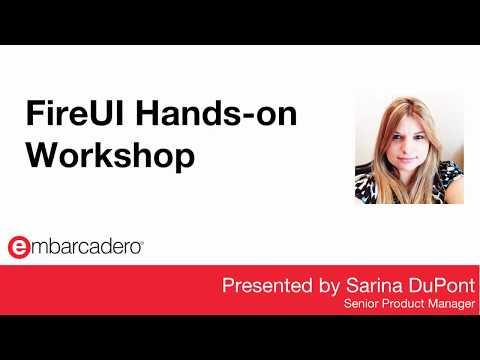 FireUI Hands-on Workshop