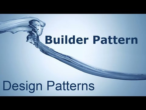 Design Patterns - The Builder Pattern in 5 minutes