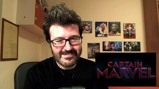CAPTAIN MARVEL - Official Trailer Reaction e Analisi