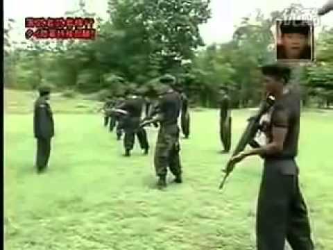 [รายการญี่ปุ่น]เอาคนตลกญี่ปุ่นมาฝึกทหารในไทย 2