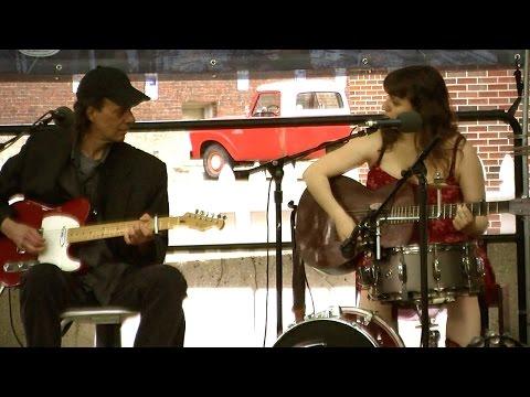 Jo Serrapere & John Devine at the Grove Stage,...