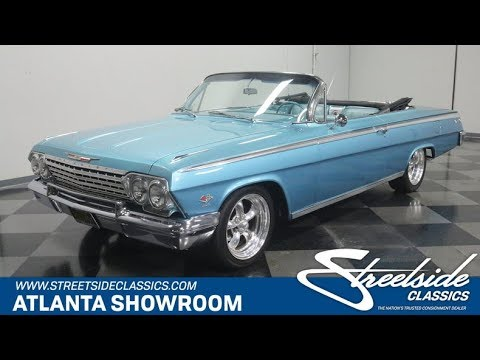 1962 Chevrolet Impala Ss 409 For Sale 4325 Atl