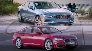 All new Audi A6 2019 VS Volvo S90 2019 Full Review