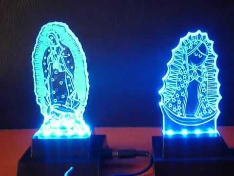 iluminacin led para imgenes en acrlico mov