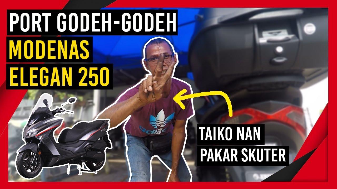 Download Modenas Elegan 250 tukar mangkok korek dengan Taiko Nan expert skuter