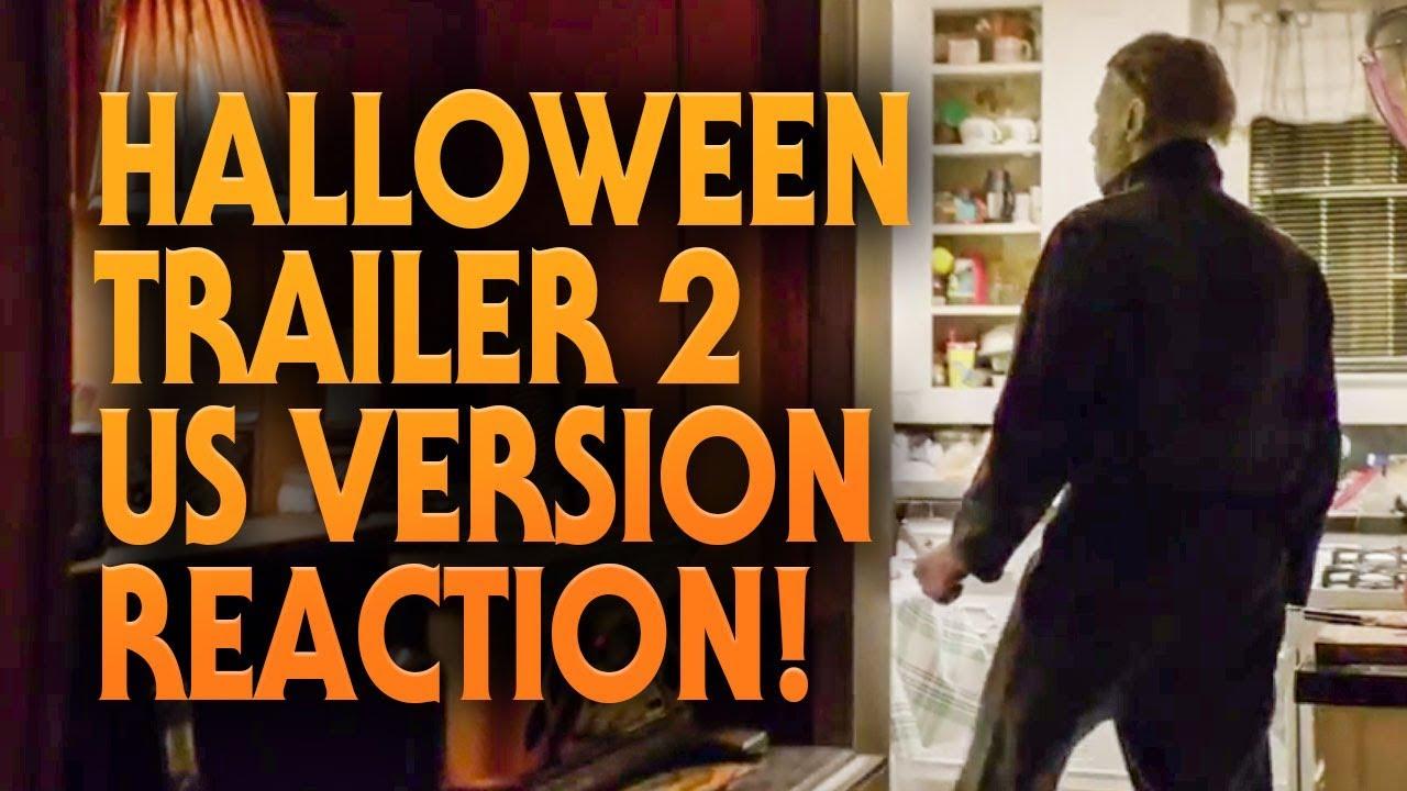 Halloween (2018) Trailer 2 (US Version) Reaction