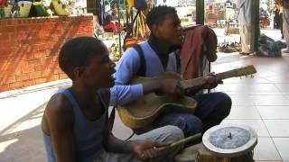 Street Zambian music in Arcades, Lusaka, Zambia