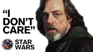 "Mark Hamill On Star Wars - ""I Don't Care Anymore"""