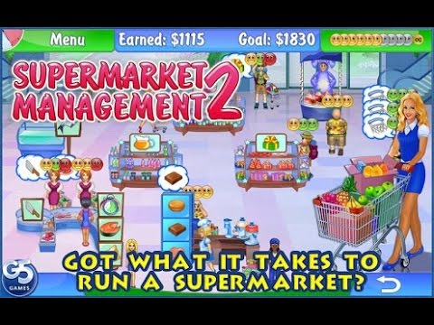 Supermarket Management 2 Gameplay Part 2 (Level 1-3, 1-4 and 1-5)