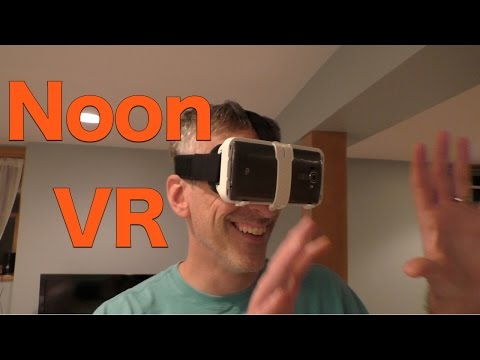 Noon VR Virtual Reality Headset Review, Works with Android and iOS Phones