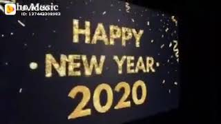 Happy New Year 2020 status song