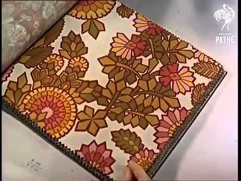 Dise o y fabricaci n papeles pintados sanderson 1968 youtube - Papeles pintados sanderson ...