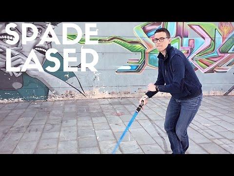 Spade laser giocattolo componibili Star Wars Hasbro Bladebuilders