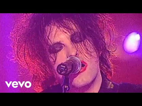 The Cure- Friday im in love (lyrics)