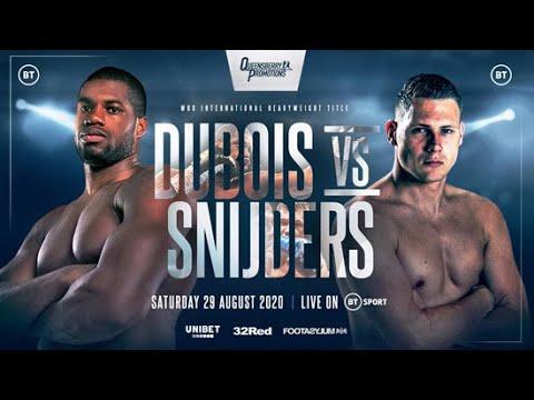 Daniel Dubois vs Ricardo Snijders Breakdown & Prediction