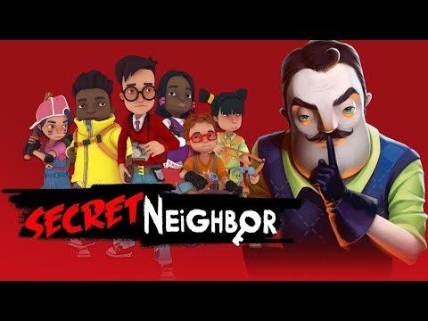 ПРИВЕТ СОСЕД ПО СЕТИ С ДРУЗЬЯМИ! - Secret Hello Neighbor Привет Сосед Секрет