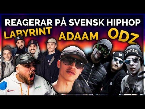 REAGERAR PÅ SVENSK HIPHOP: LABYRINT, ADAAM & ODZ **BÄSTA PÅ LÄNGE?!**