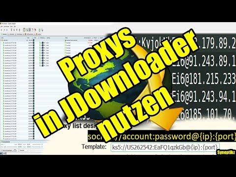 JDownloader Proxys eintragen (Proxyliste) Windows / Linux